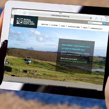 Responsive websites for Rural Housing Scotland and Our Island Home